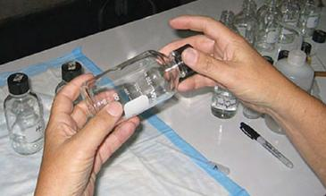 CDC Bottle Assay - credit: CDC
